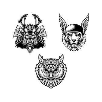 Animal design black and white