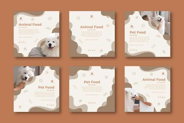Animal food instagram posts