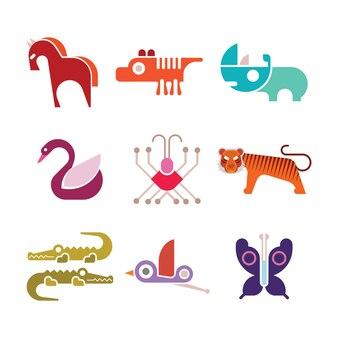 Иконки животных