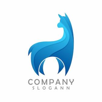 Animal logo template