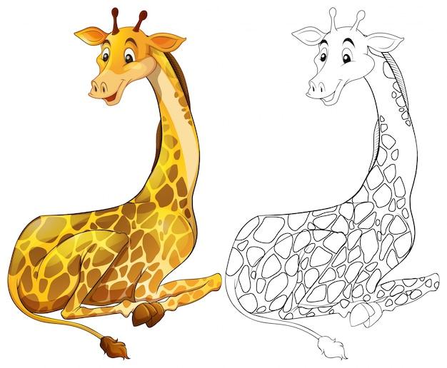 キリンの座るための動物の概要