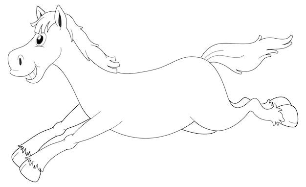 馬のランニングのための動物の概要
