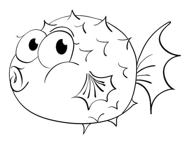 Profilo animale per pesce palla