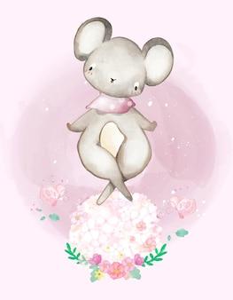 동물 그림 귀여운 수채화 일러스트