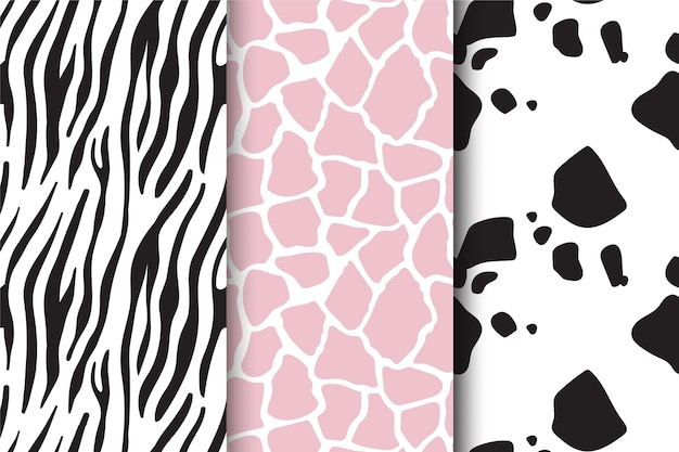 Animal print pattern collection