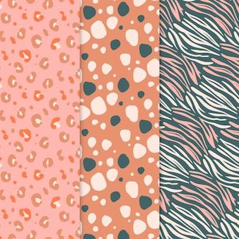 동물 프린트 패턴 컬렉션
