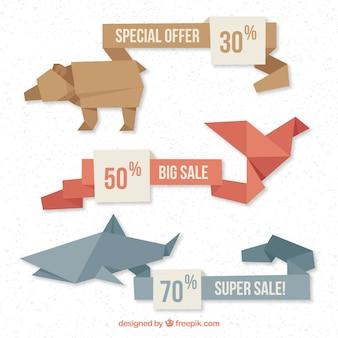 Banner di vendita animale