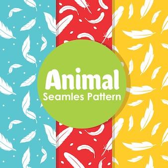 Animal Seamless Pattern Repeat
