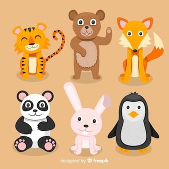 Animal set in kids' style