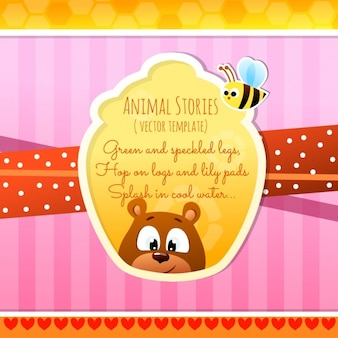 Animal stories, bear