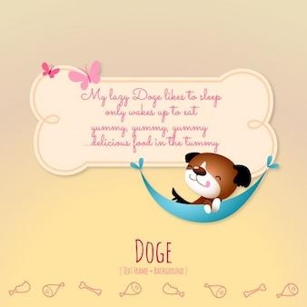 Animal stories, the dog
