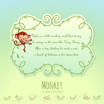 Animal stories, monkey
