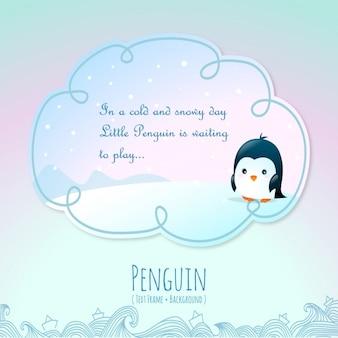 動物の物語、ペンギン 無料ベクター