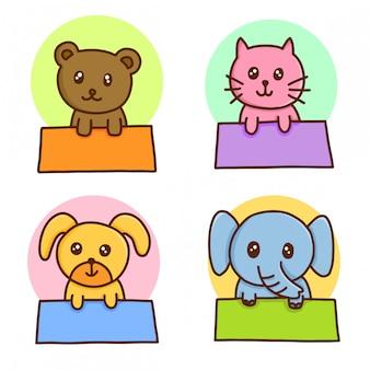 Animal tag frame