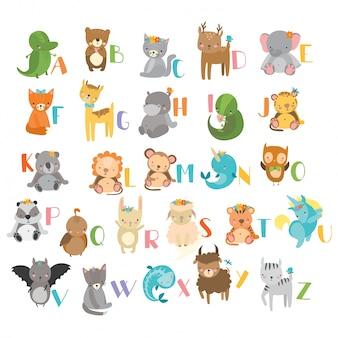 動物abcデザイン