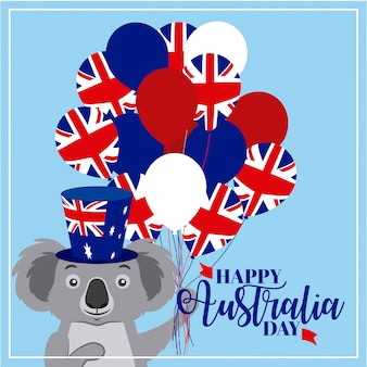 Animals australia day celebration