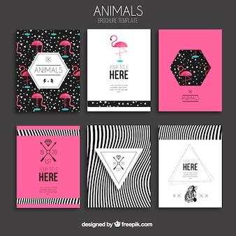 Животные брошюры