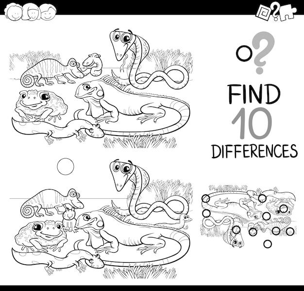 Игра животных различия