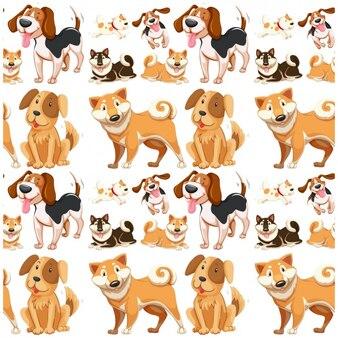 動物のパターン設計