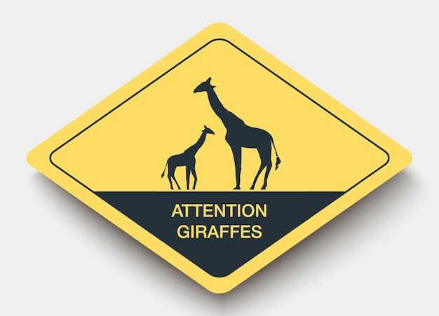 Animals sign.