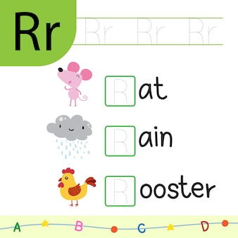 Animals worksheet vector design