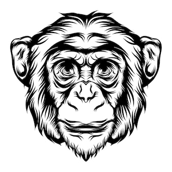 Animation of the monkey for the tattoo animal ideas