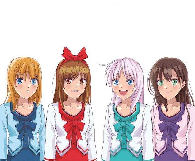 Anime manga girl