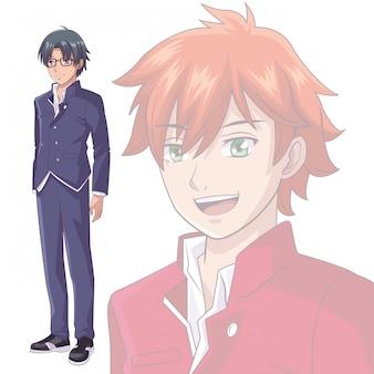 Anime manga men