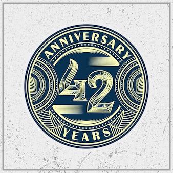 Anninersary 42th