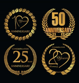 Anniversary background