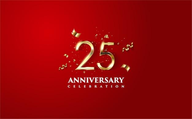 Anniversary celebration background.
