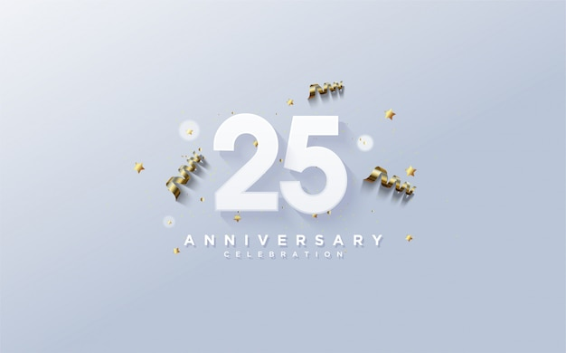 Фон празднования годовщины.