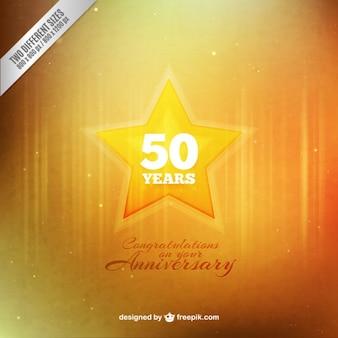 Anniversary star background