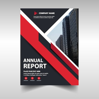 Annual business report cover