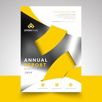 Annual report business design template