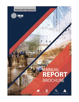 Annual report, Flyer, Brochure vector design