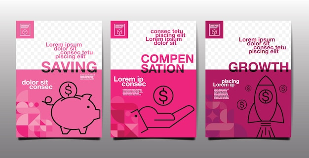 Annual report , future, business, template layout design, cover book ,magenta tone