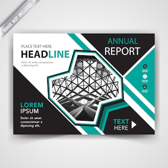Annual report leaflet