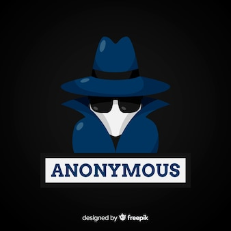 Anonymous hacker background