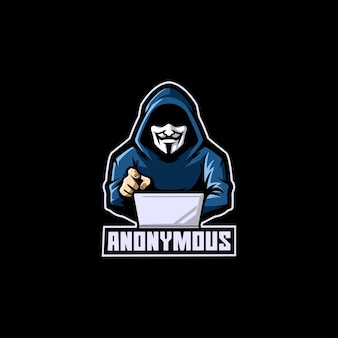 Anonymous hacker thief computer