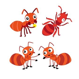 アリのキャラクターデザイン