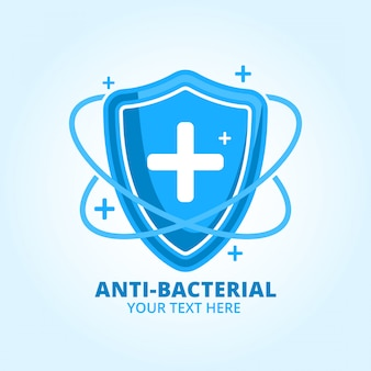 Anti bacterial hand sanitazer logo brand product