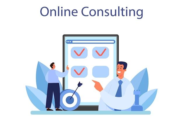 Онлайн-сервис или платформа антикризисной стратегии. планирование бизнеса