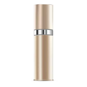 Antiaging essential serum cosmetic bottle mockup