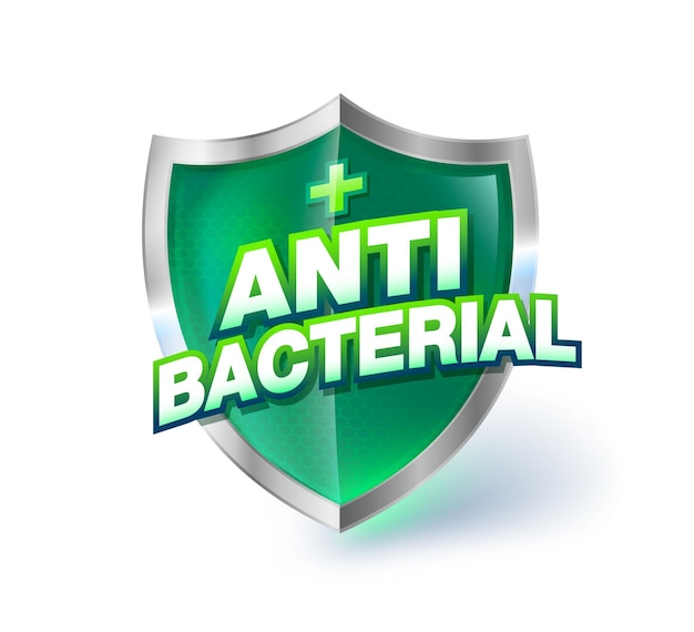 항균 녹색 투명 크리스탈 유리 방패