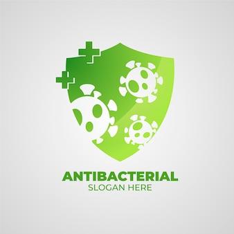 Antibacterial logo concept