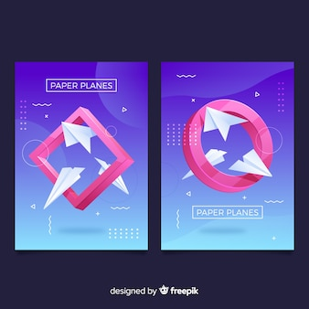 Antigravity geometric shapes covers