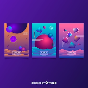 Antigravity shapes brochure collection
