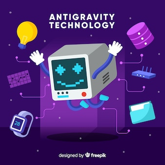 Antigravity technology with elements
