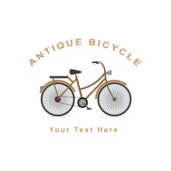 Antique bicycle design